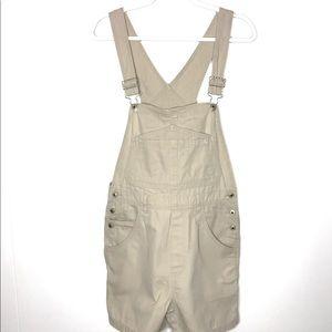 Marsh Landing Blues Carpenter Overall Shorts-Small